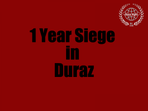 1 Year Siege