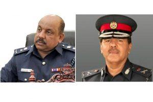 Left: Mohammed Al Hussaini, Right: Ibrahim Al-Ghaith